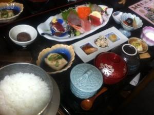 刺身定食:1,380円